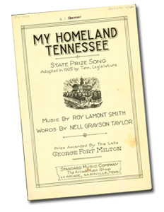 My Homeland Tennessee (000239-TENN)