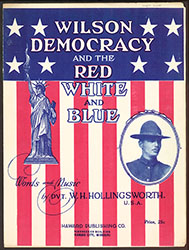 Wilson Democracy and the Red, White, and Blue (001454-AVERY)