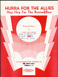 Hurra for the Allies, Hep Hep for the Russian Bear (003431-UCLAS)